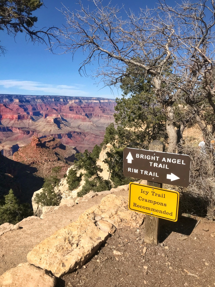 Grand Canyon National Park Bright Angel Trail Hike