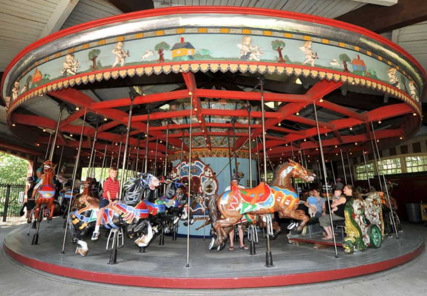 Central Park Carousel Top Activities in Central Park