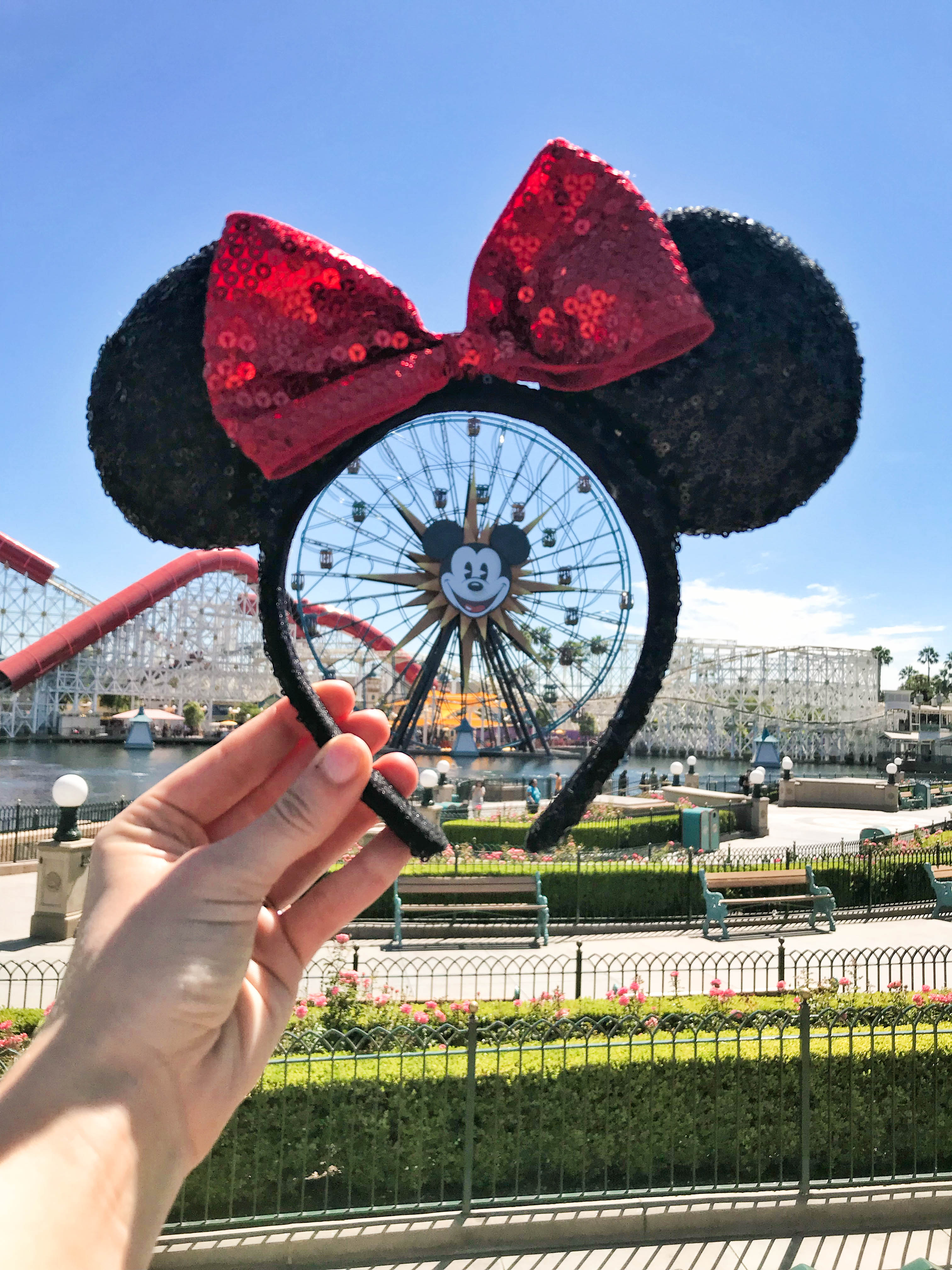 Disneyland Tips to Know Before you go California Adventure Travel Guide to Los Angeles California Mickey Ferris wheel