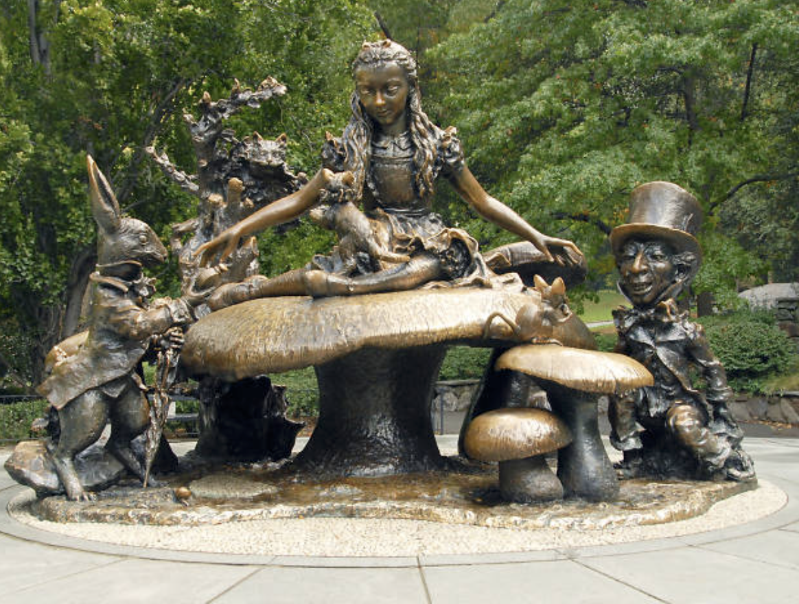 Alice In Wonderland Statue Central Park Top Activities in Central Park