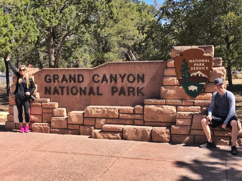 Grand Canyon National Park Entrance Tusayan Arizona