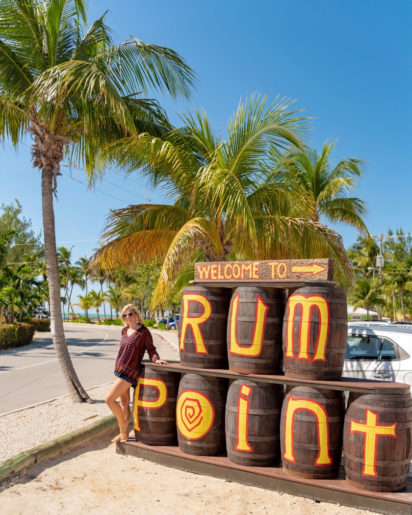 rum point entrance