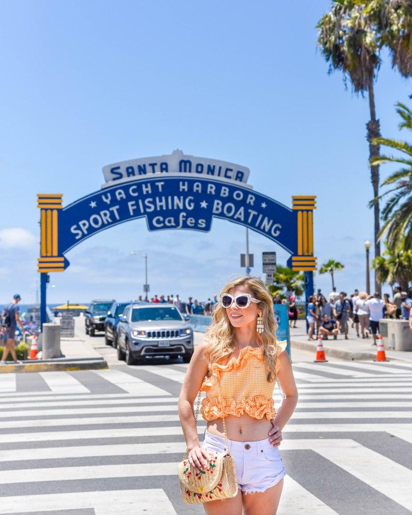 Santa Monica Pier California Travel Guide to Los Angeles