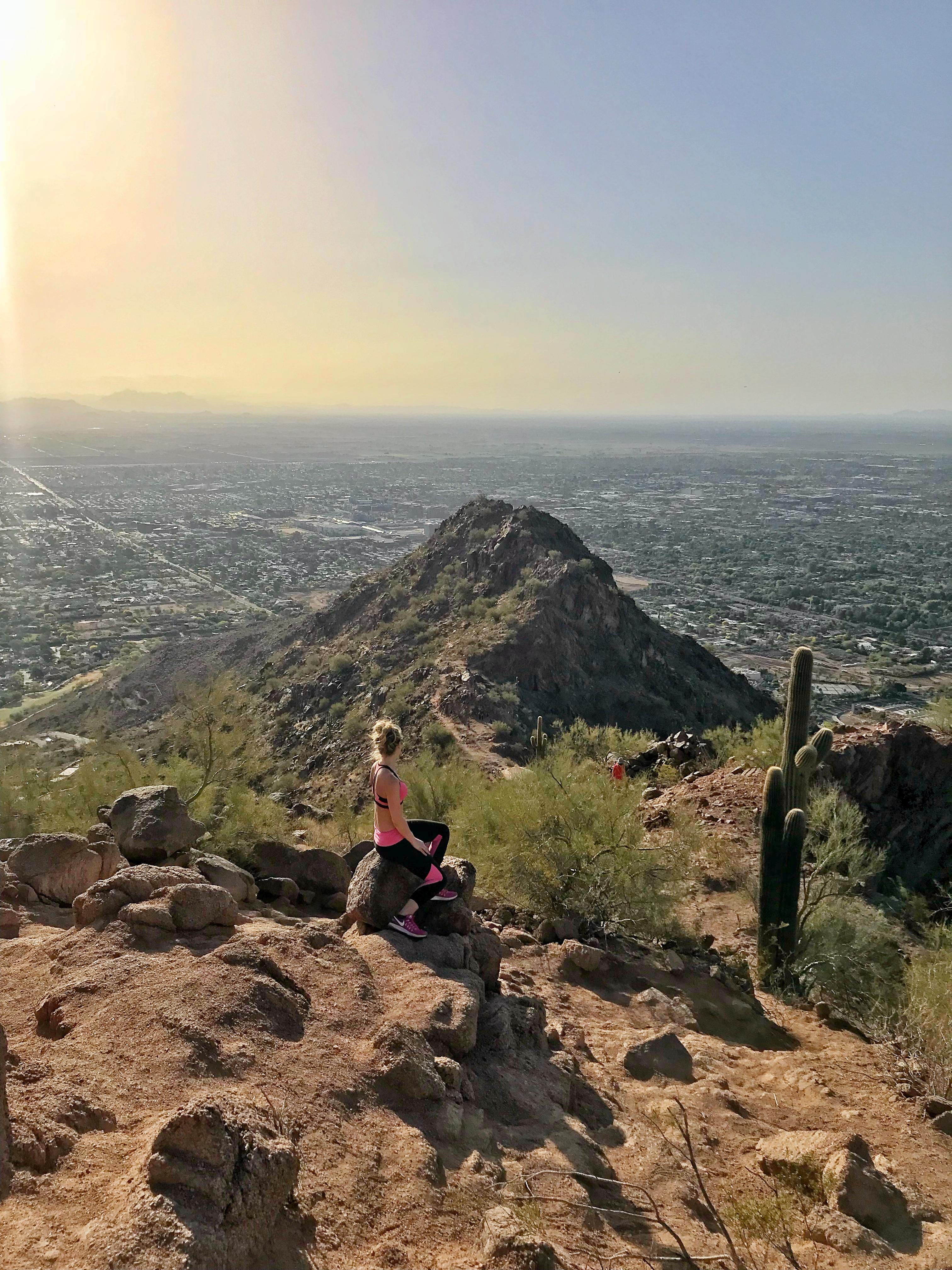 Camelback Mountain Cholla Trail Scottsdale Arizona Hike