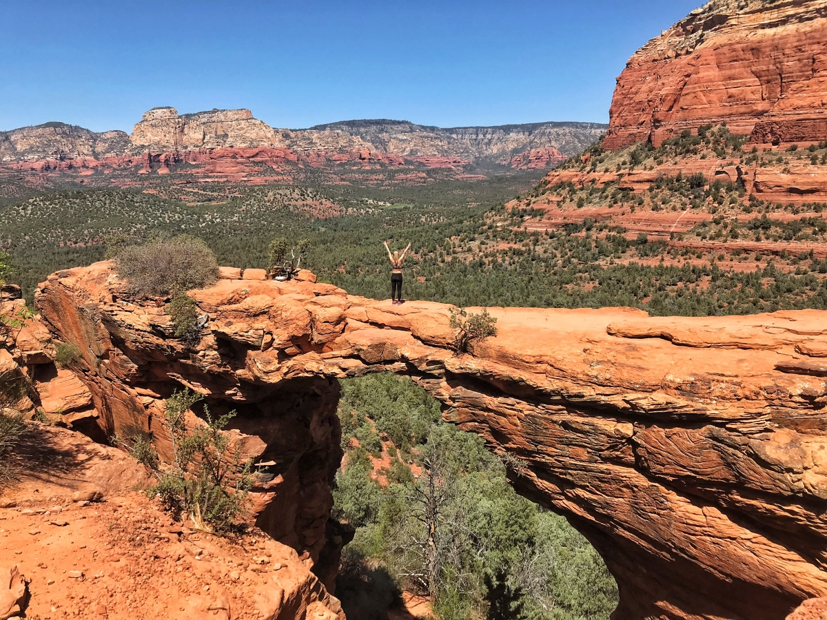 Devil's Bridge Hike Sedona Arizona
